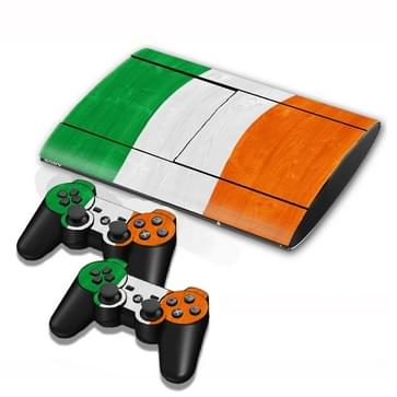 Cote D lvoir Vlag patroon Stickers voor PS3 Game Console