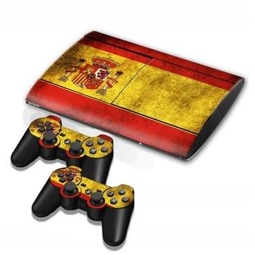 Spainish Vlag patroon Stickers voor PS3 Game Console