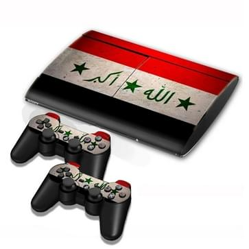 Iraqi Vlag patroon Stickers voor PS3 Game Console