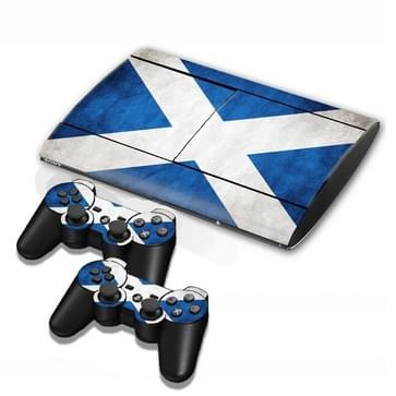 Scottish Vlag patroon Stickers voor PS3 Game Console