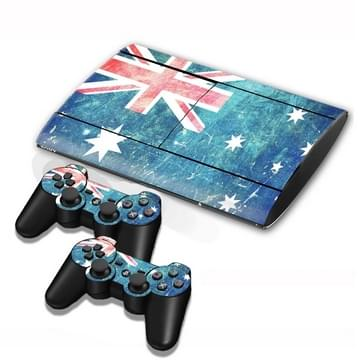 Australian Vlag patroon Stickers voor PS3 Game Console