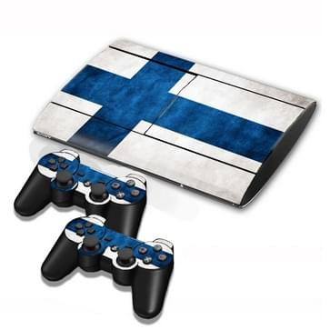 Finnish Vlag patroon Stickers voor PS3 Game Console
