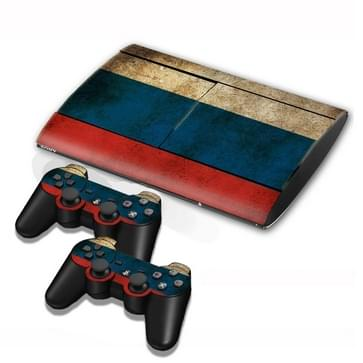 Russian Vlag patroon Stickers voor PS3 Game Console