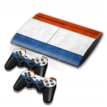 French Vlag patroon Stickers voor PS3 Game Console