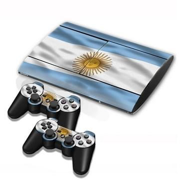 Argentine Vlag patroon Stickers voor PS3 Game Console