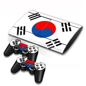 Korean Vlag patroon Stickers voor PS3 Game Console