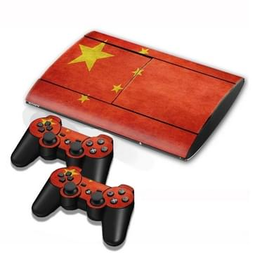 Chinese Vlag patroon Stickers voor PS3 Game Console