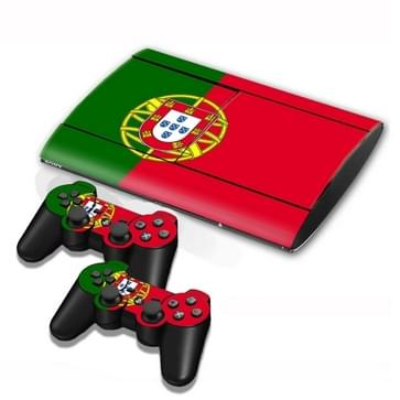 Portuguese Vlag patroon Stickers voor PS3 Game Console