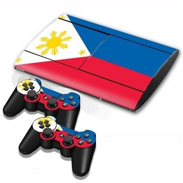 Philippine Vlag patroon Stickers voor PS3 Game Console