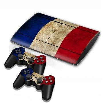 Dutch Flag Pattern Decal Stickers for PS3 Game Console