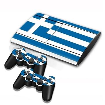 Greek Vlag patroon Stickers voor PS3 Game Console