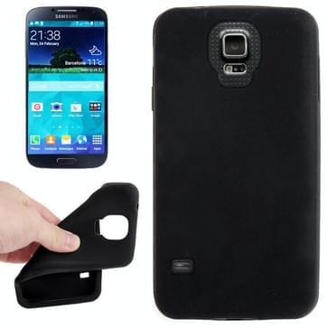 Anti-kras Silicon hoesje voor Samsung Galaxy S5 / G900  (zwart)