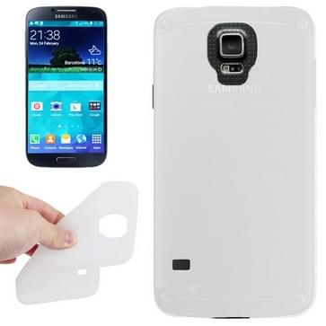 Anti-kras Silicon hoesje voor Samsung Galaxy S5 / G900  wit