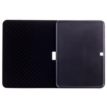 Wereldkaart patroon Flip lederen hoesje met houder voor Samsung Galaxy Tab 4 10.1 / SM-T530   (licht geel)