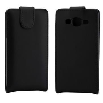 Vertical Flip lederen hoesje voor Samsung Galaxy SIII / i9300(zwart)