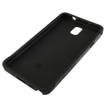SGP Series Slim Armor Plastic + TPU combinatie hoesje voor Samsung Galaxy Note III / N9000 (zwart)