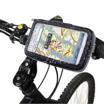 Fiets houder & Waterdicht Touch hoesje voor Samsung Galaxy Opmerking / i9220 / N7000 Note II / N9000 opmerking 3