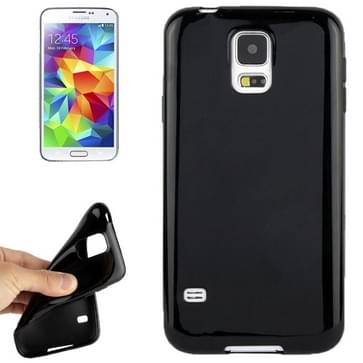 Smooth Surface TPU Case for Galaxy S5 / G900(Black)
