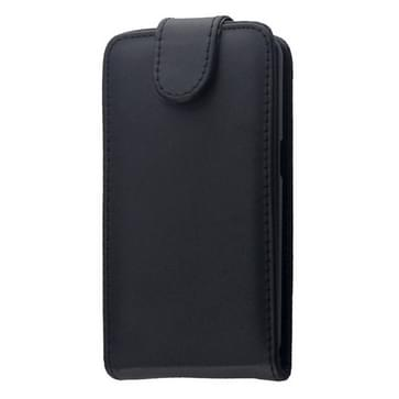 Vertical Flip Leather Case for Galaxy Core II / SM-G355H(Black)