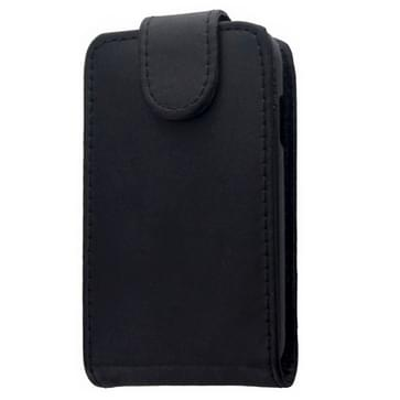 Vertical Flip Leather Case for Galaxy Young 2 / G130(Black)