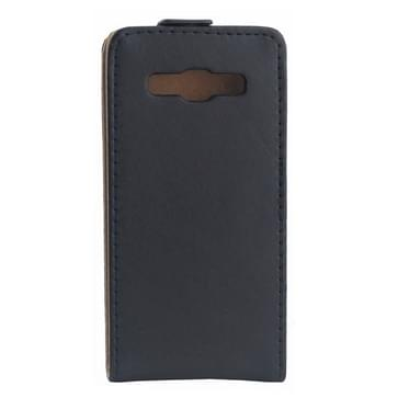 Verticale Flip lederen hoesje voor Samsung Galaxy A7 / A700F(zwart)