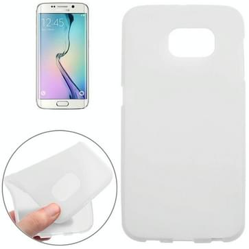 Double Sided Frosted TPU hoesje voor Samsung Galaxy S6 (wit)