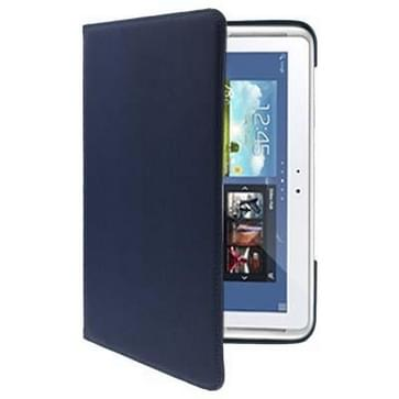 360 Degree Rotatable Leather Case for Galaxy Note (10.1) / N8000 / N8010(Dark Blue)
