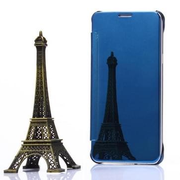 Galvaniseren spiegel horizontaal flip lederen hoesje voor Samsung Galaxy Note 5 / N920(Baby blauw)