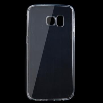 Samsung Galaxy S7 / G930 ultra-dun transparant TPU back cover Hoesje