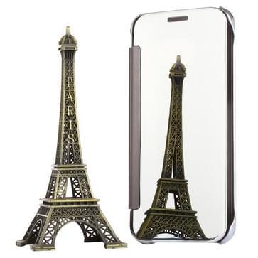 Voor Samsung Galaxy S7 / G930 galvaniseren spiegel horizontaal flip lederen hoesje (zilver)
