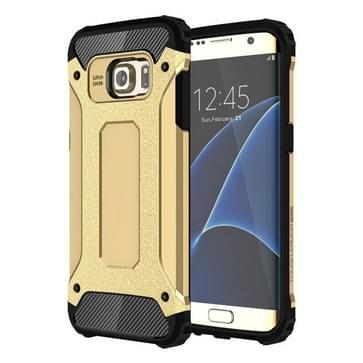 Voor Samsung Galaxy S7 Edge / G935 hard Armor TPU + PC combinatie hoesje (Goud)