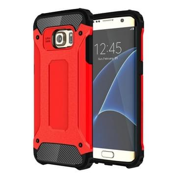 Voor Samsung Galaxy S7 Edge / G935 hard Armor TPU + PC combinatie hoesje (rood)