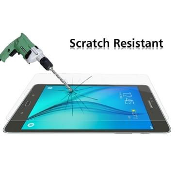 Samsung Galaxy Tab A 8.0 Gehard glazen schermprotector 0.4mm 9H+ ultra 2.5D hardheid