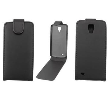 Verticale Flip lederen hoesje voor Samsung Galaxy S IV Active / i9295(zwart)