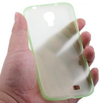 Samsung Galaxy S IV / i9500 0.3mm ultra dun Polycarbonate materiaal beschermende Shell Cover (groen)