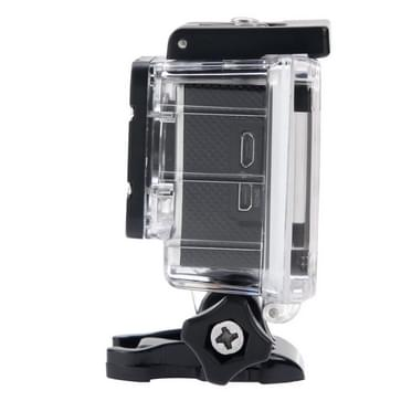 SJCAM SJ4000 Full HD 1080P 1.5 inch LCD Sports Camcorder met Waterdicht hoesje, 12.0 Mega CMOS Sensor, 30m Waterdichtwit