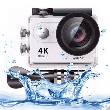 H9 4K Ultra HD1080P 12MP 2 inch LCD scherm WiFi Sports Camera, 170 graden groothoeklens, 30m waterdichtwit