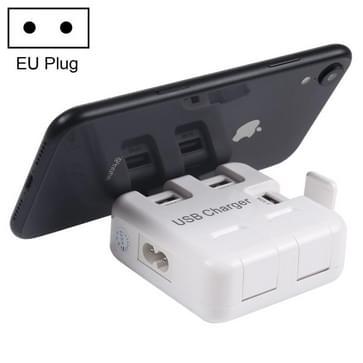 5V (2.1a + 4 x 1A) 5 Poorts draagbaar USB laad Station  EU stekker  Kabel lengte: 1 meter  Model: 3005