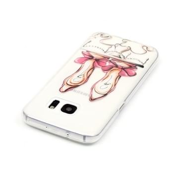 Samsung Galaxy S7 / G930 Glossy hoge hakken patroon TPU back cover Hoesje