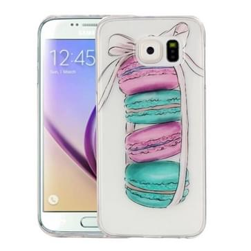 Samsung Galaxy S6 / G920 Glossy macarons patroon TPU back cover Hoesje