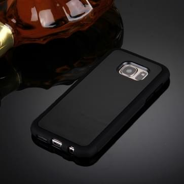 Samsung Galaxy S7 / G930 uniek TPU + kunststof back cover Hoesje met magische Nano zuigtechnologie (zwart)