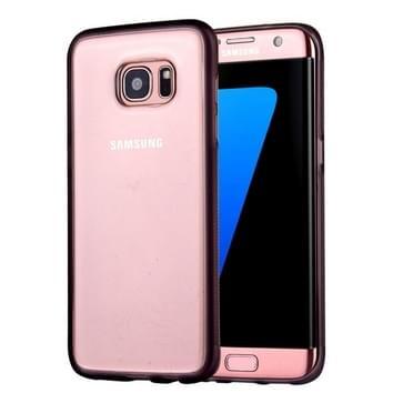 Samsung Galaxy S7 Edge / G935 uniek TPU + kunststof back cover Hoesje met magische Nano zuigtechnologie (grijs)