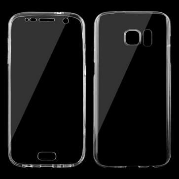 Samsung Galaxy S7 / G930 volledig omhullend ultra-dun 0.75mm transparant TPU Hoesje