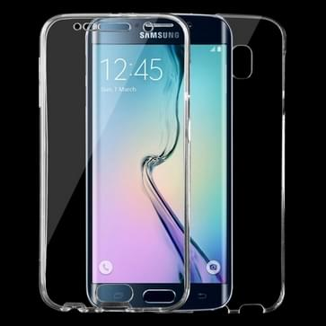 Samsung Galaxy S6 / G920 ultra-dun 0.75mm volledig omhullend transparant TPU Hoesje
