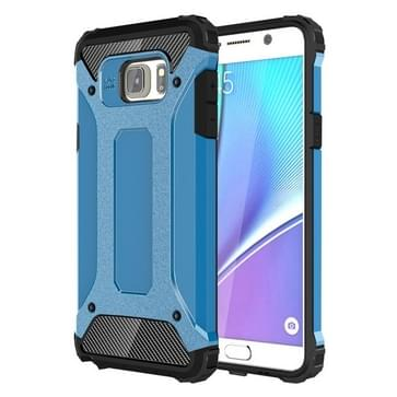 Voor Samsung Galaxy Note 5 / N920 hard Armor TPU + PC combinatie hoesje(blauw)