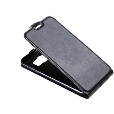 Voor Samsung Galaxy S7 Edge / G935 met opbergruimte voor pinpassen & Foto Frame(zwart)