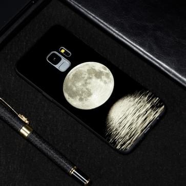 Maan geschilderd patroon zachte TPU geval voor Galaxy S9