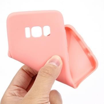 Samsung Galaxy S8 PLUS / G9550 Vrolijk snoep gekleurd zacht beschermend TPU back cover Hoesje (roze)