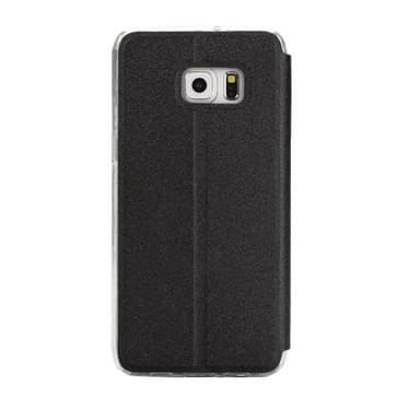 Voor Samsung Galaxy S7 / G930 horizontaal flip lederen hoesje met houder & Oproepweergave ID (zwart)