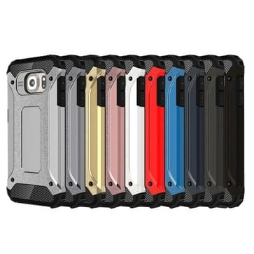 Voor Samsung Galaxy S6 / G920 harde Armor TPU + PC combinatie hoesje (zilver)